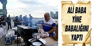 Ali Baba'dan New York Polisine Barbekü Partisi