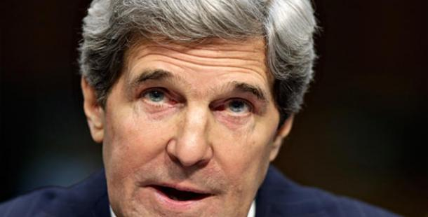 Bakan Kerry Irak'ta