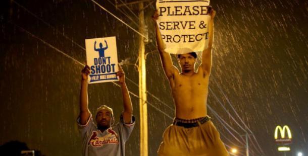 Ferguson'da yine sokağa çıkma yasağı