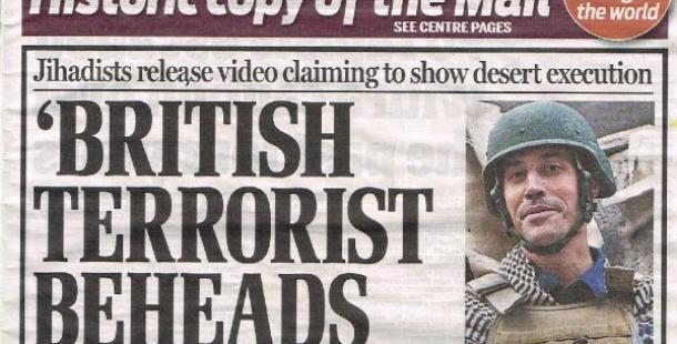 'IŞİD Militanı İngiliz'