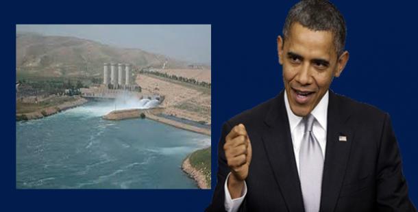 'Irak güçleri Musul barajını ele geçirdi'
