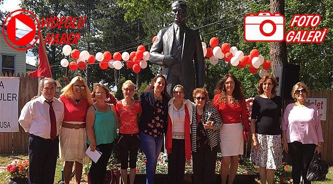 30 Ağustos Zafer Bayramını Ata Park'ta Kutladılar