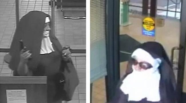 ABD'de rahibe kılığındaki kadınların banka soyma girişimi
