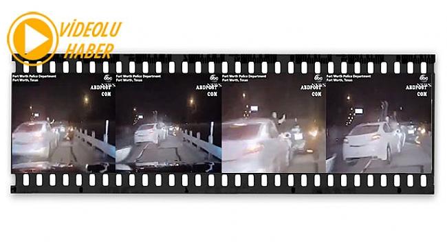 Alkollü Sürücü Polise Böyle Çarpıyor