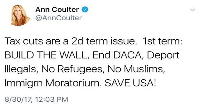 Ann Coulter Vergi Sistemini Eleştirdi