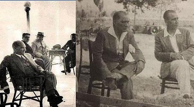 Atatürk'ün bu fotoğrafı sosyal medyayı salladı