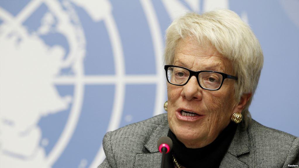BM Suriye Komisyonu Üyesi Del Ponte İstifa Ediyor
