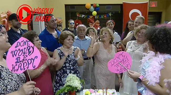 Doğum Gününü Parti İle Kutladı