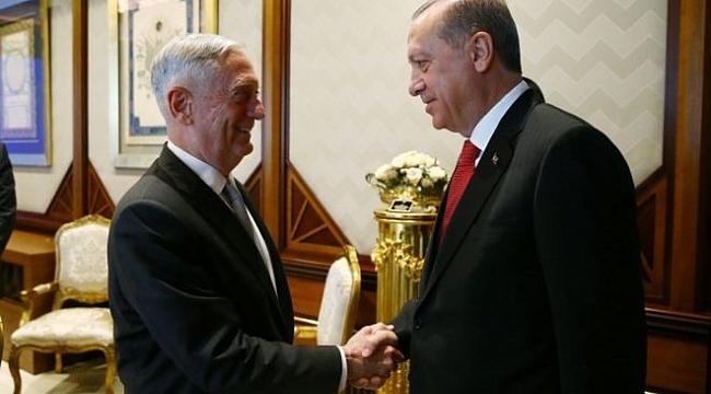 Erdoğan: ABD'nin PYD'ye desteğinden Rahatsızız