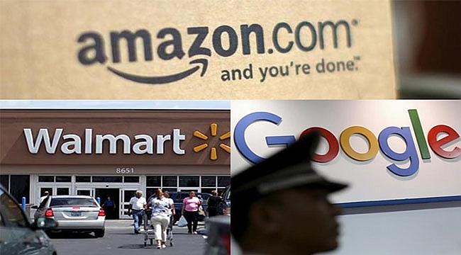 Google ve Walmart Amazon'a Karşı Birleşti