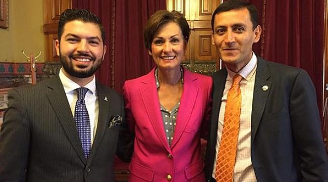Iowa'nın Kadın Valisi Sözde Ermeni Soykırımını kabul etti