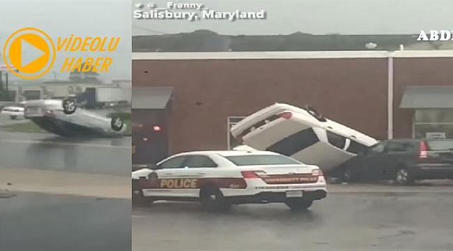 Maryland'ta Fırtına ve Sel