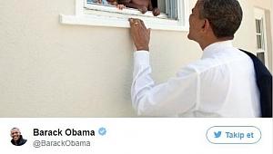 Obama'nın Twetine Rekor Beğeni