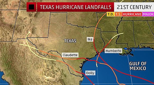 Teksas'ta Harvey Kasırgası Felaketi CANLI