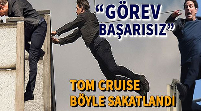 Tom Cruise Sakatlandı