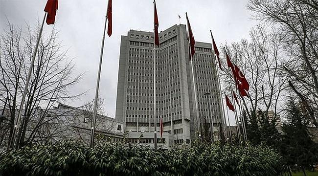 Türk Dışişleri'nden ABD'ye 'koruma' tepkisi