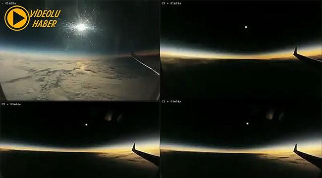 Uçaktan Güneş Tutulması