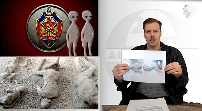 Uzaylılar Rus Askerlerini Taşa Çevirmiş...