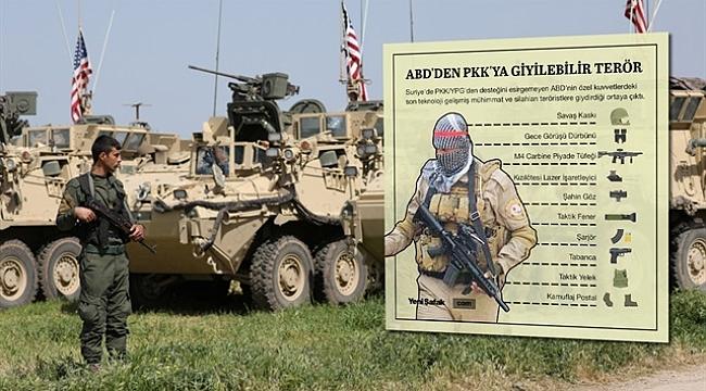 ABD, 10 günde PYD'ye 200 TIR askeri yardım