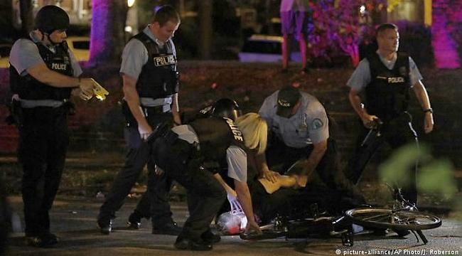 ABD'de bir kez daha polis şiddetine protesto