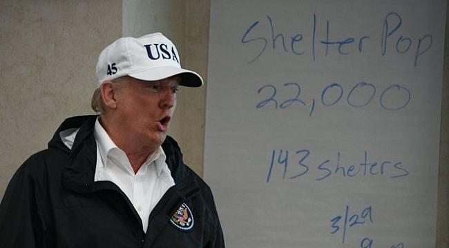 ABD'de Harvey Fırtınası: Trump kişisel servetinden 1 milyon dolar yardım yapacak