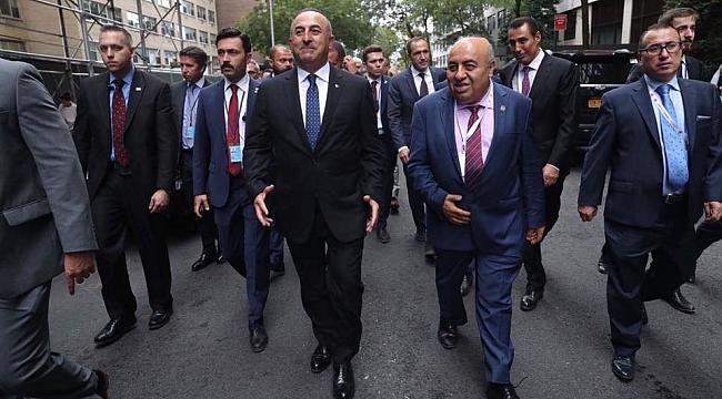 Ali Baba Bakan Çavuşoğlu'nu Ağırladı