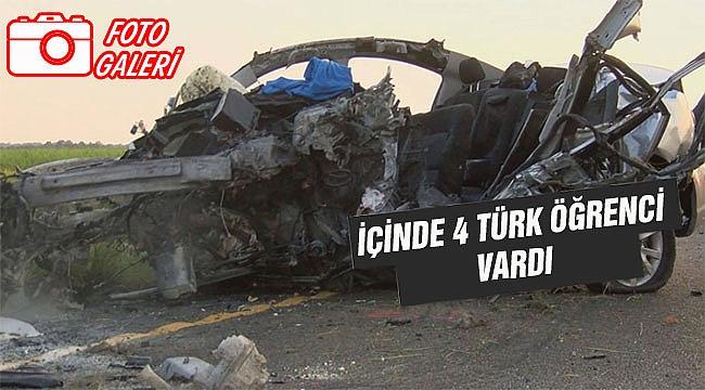 Amerika'da 3 Türk Öğrenci Kaza da Hayatını Kaybetti