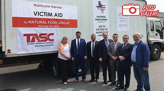 Amerikalı Türkler'den Harveyzedelere Yardım