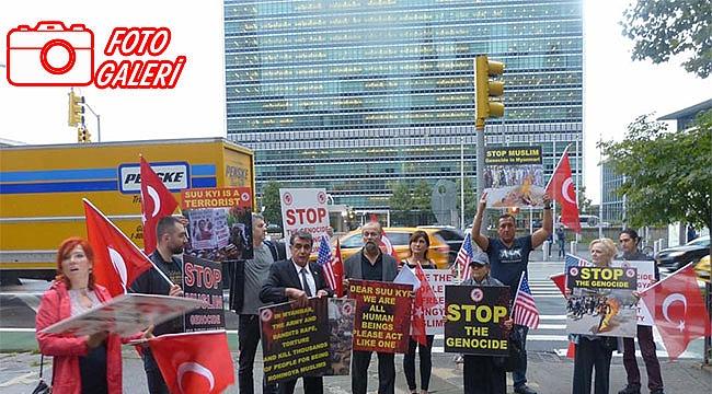 Birleşmiş Milletlere Arakan Protestosu