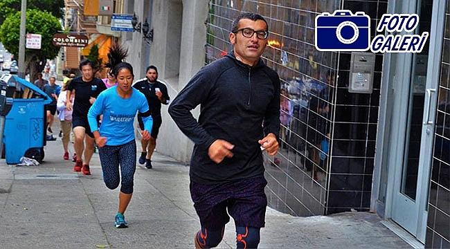 Dünya Maratonunda Tek Türk: Ercan Vural