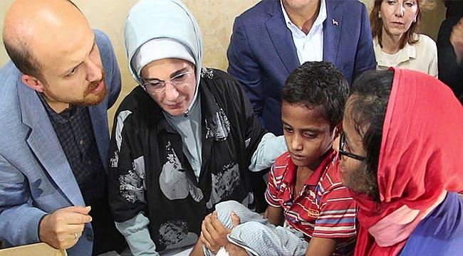 Emine Erdoğan Arakanlı Müslümanlar'ı Ziyaret Etti