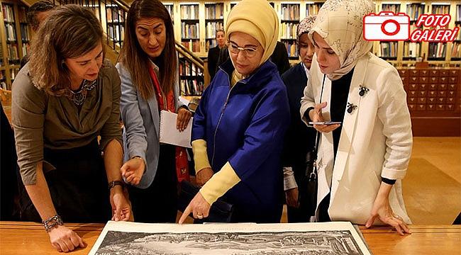 Emine Erdoğan, New York Public Library'de