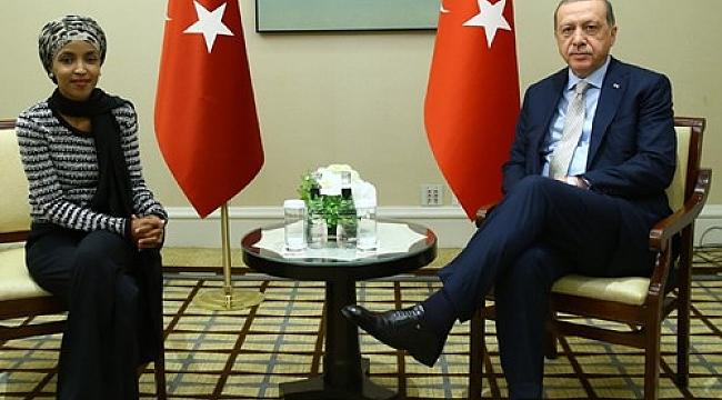 Erdoğan Minnesota Temsilcisi Omar'i Kabul Etti