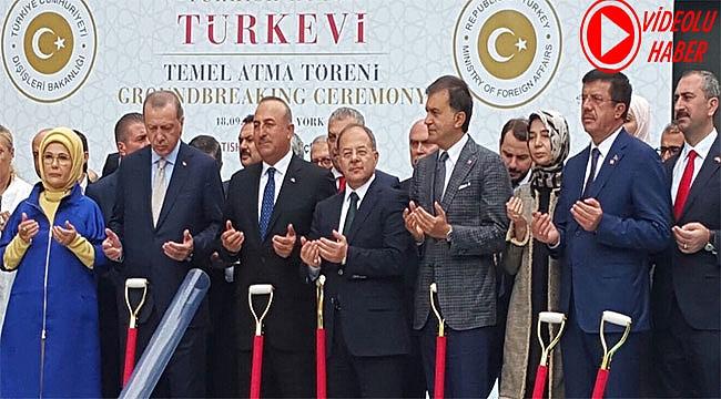 Erdoğan Türkevinin temelini attı