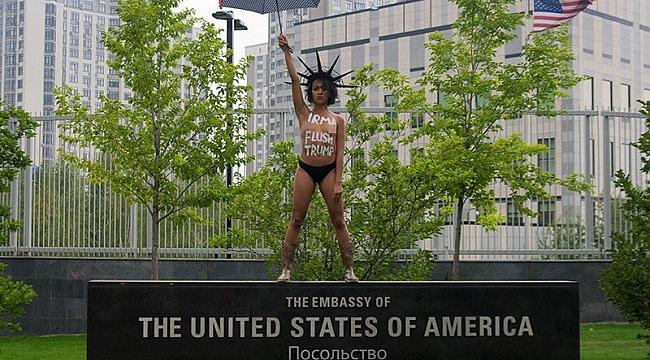 Femen: IRMA Trump'ı Temizlesin
