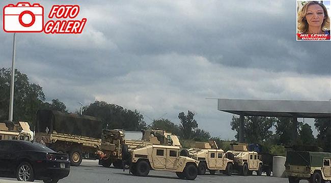 Florida'ya Askeri Birlikler Sevkediliyor