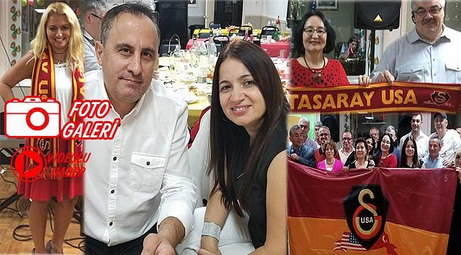Galatasaraylılar Amerika'da Coştu
