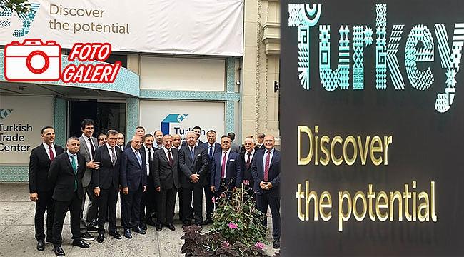 Manhattan'da Türk Ticaret Merkezi Açıldı