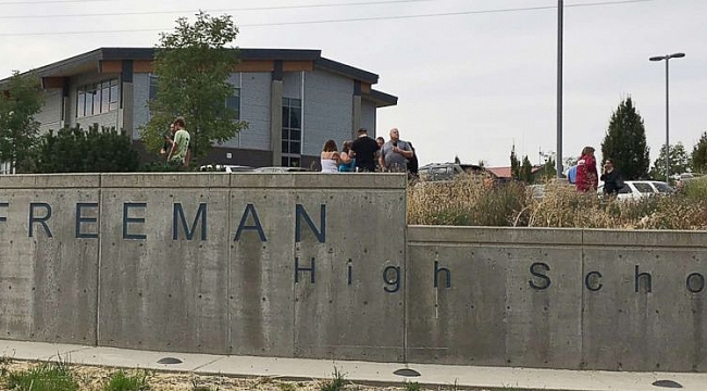 Student killed confronting gunman at Spokane school
