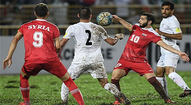 Suriye ABD arasında Futbol Maçı