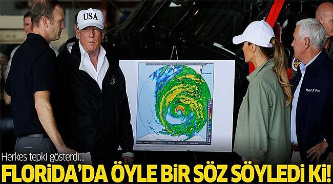 Trump Florida da Öyle Bir Laf Etti ki!