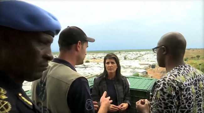 ABD BM Temsilcisini Güney Sudan'dan kurtardı