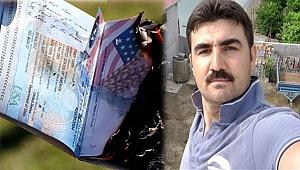 ABD Pasaportlarını Yaktı
