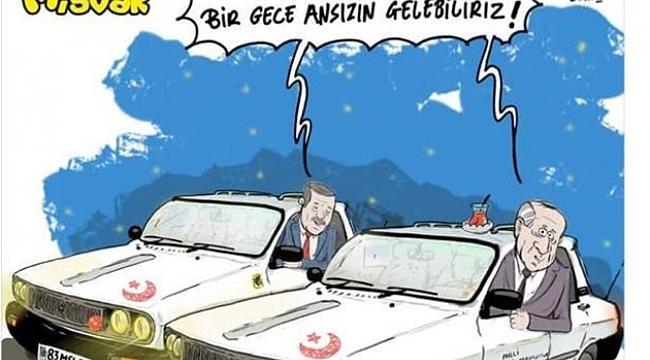 Erdoğan ve Bahçeli'ye bir garip gönderme