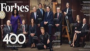 Forbes ABD'nin en zengin 400 ismini açıkladı