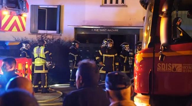 Fransa'da Yangın ile ilgili Açıklama
