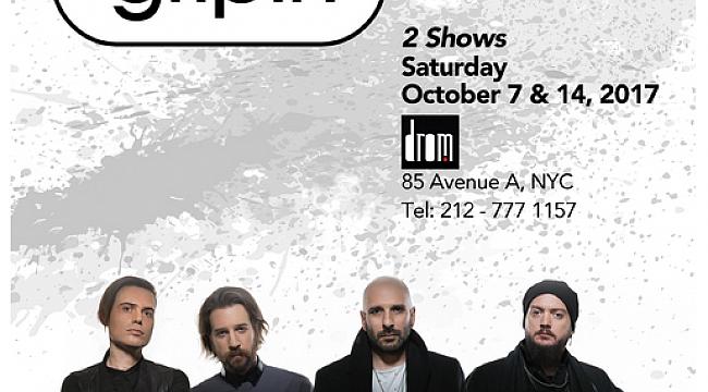 Gripin New York'ta Konsere Geliyor