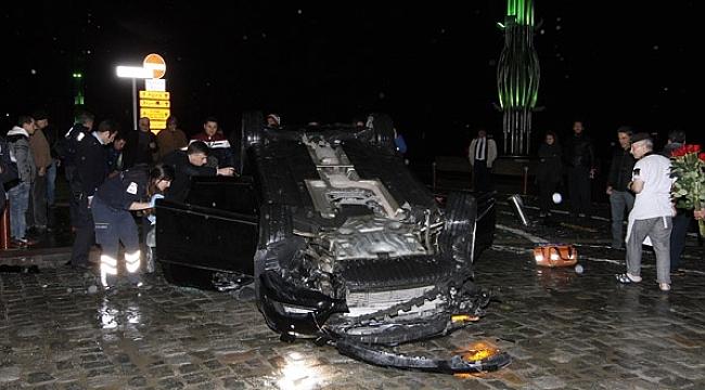 İzmir'de Trafik Kazası 2 Polis Şehit 5 Yaralı