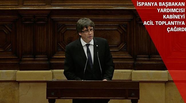 Katalonya Bağımsızlık İlanını Erteledi