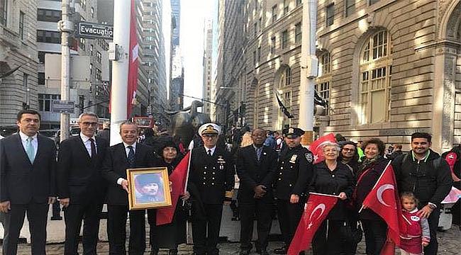 New York'ta Türk Bayrak Töreni